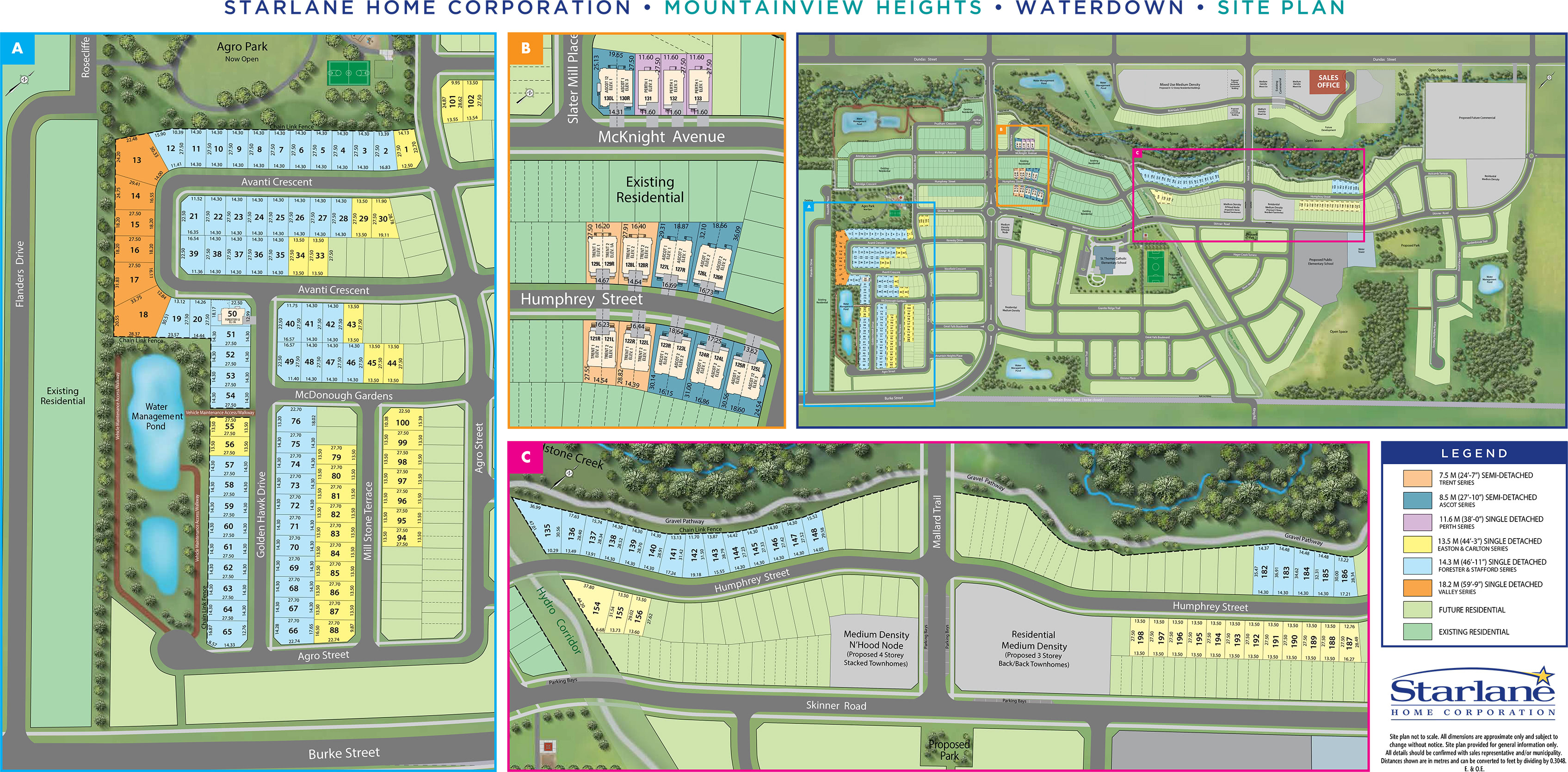 Mountainview Heights Site Plan